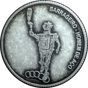 Token - Itaipu Binational (Foz do Iguaçu - Steel Man's Dam) – obverse