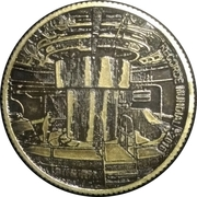 Token - Itaipu Binational (Foz do Iguaçu - World Record) – obverse