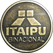 Token - Itaipu Binational (Foz do Iguaçu - World Record) – reverse