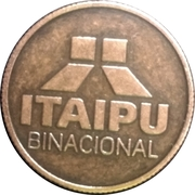 Token - Itaipu Binational (Foz do Iguaçu - Spillway) – reverse