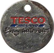 Shopping Cart Token - Tesco Childline – obverse