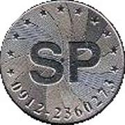 Token - SP – obverse