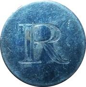 Token - R (Radovljica) – reverse