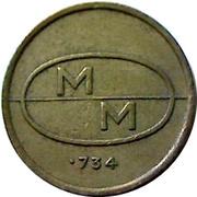 Token - M M – reverse