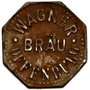 1 Glas Bier - Wagner Bräu (Offenburg) – obverse