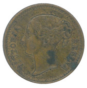 Counter Token - Victoria – obverse