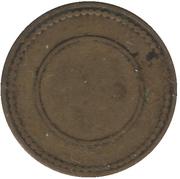 ½ Penny - Ynysybwl Indus. Co-Op. Soc. Ltd. (Ynysybwl, Mid Glamorgan, Wales) – reverse