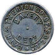 Bread Half Qr - Bath & Twerton CSL (Somerset) – obverse