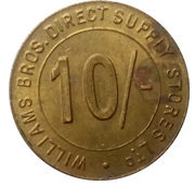 10 Shillings - Williams Bros. Direct Supply Stores Ltd – obverse
