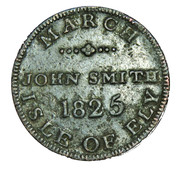 1 Farthing - March - J. Smith – obverse
