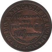 ½ Pound Check - The London and Newcastle Tea Companys (Southbridge, Edinburgh) – obverse