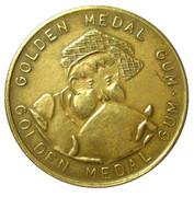 Golden Medal Gum (Cycling; 2 cyclist) – reverse