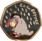 Token - Disney (Eeyore) – obverse