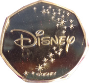 Token - Disney (Tigger) – reverse
