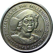 Token - Sainsbury's Makers of the Millennium (Christopher Columbus) – obverse