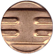 Telephone Token (Probe; type 4) – reverse
