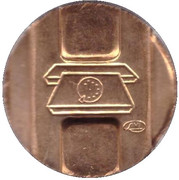 Telephone Token (Probe; type 3) – obverse