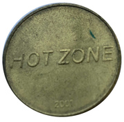 Token - Hot Zone – obverse