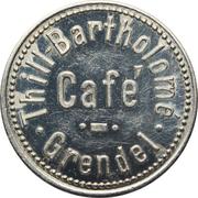 Token - Café Thill-Bartholomé (Grendel) – obverse