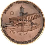 Token - Expo '67 (Atlantic Provinces Pavilion) – obverse