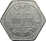 Token - Café Big Ben (Dudelange) – obverse