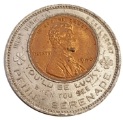 Encased Coin - Serenade Penny – obverse