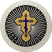 Medal - Archangels (Barachiel) – reverse