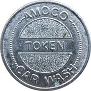 Car Wash Token - Amoco – obverse