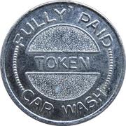 Car Wash Token - Amoco – reverse