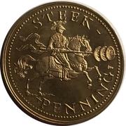 Satirical Token - Steek-penning (Vespasianus) – reverse