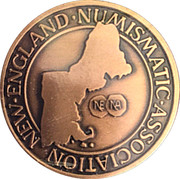 Token - New England Numismatic Association (55th Convention) – obverse