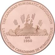 Medal - Canadian Numismatic Association 1999 (Kitchener, Ontario) – reverse