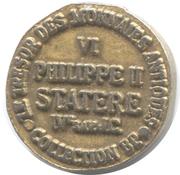 Token Collection BP - Le Trésor des Monnaies Antiques (№VI - Statere) -  reverse