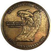 Medal - Heartland Coin Club (37th Anniversary) – obverse