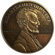 Medal - Heartland Coin Club (37th Anniversary) – reverse