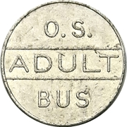 Bus Token - Owen Sound, Ontario – obverse
