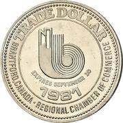 1 Dollar - Brantford, Ontario – obverse