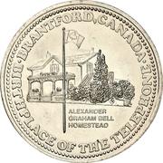 1 Dollar - Brantford, Ontario – reverse