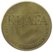 Token - Kijafa (1 Ducat - Frederik V) – reverse