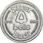 Silver Buck - Bells supermarkets (Buffalo, New York) – obverse