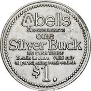 Silver Buck - Bells supermarkets (Buffalo, New York) – reverse