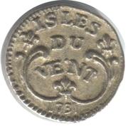 Token - Collection BP - Le Trésor des pirates (№3 - Petites Antilles Franc 12 Sols 1731) – obverse