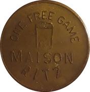 1 Free Game - Maison Ritz (Faribault, Minnesota) – obverse