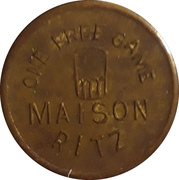 1 Free Game - Maison Ritz (Faribault, Minnesota) – reverse