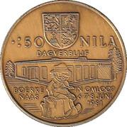 50 Nila - Nijlen – reverse