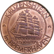 Token - Kruzenshtern in Bremerhaven – obverse