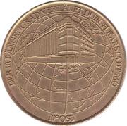Medal - 100th anniversary of the Hamburg mint (Karstadt Mö) – obverse