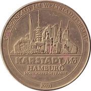 Medal - 100th anniversary of the Hamburg mint (Karstadt Mö) – reverse