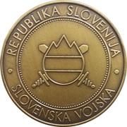 Token - Slovenska vojska (20. MOTB) – reverse