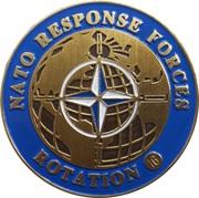 Token - Slovenska vojska (NATO Response Forces, Rotation 16) – obverse